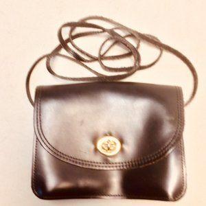 Mundi Turn Lock Flap Crossbody Messenger Bag